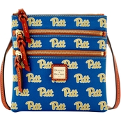 Dooney & Bourke NCAA Pittsburgh Panthers Triple Zip Crossbody