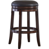 Ashley Porter 29 in. UPH Swivel Barstool 2 pk.
