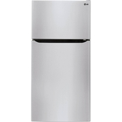 LG 24 Cu. Ft. Large Capacity Top Freezer Refrigerator
