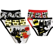 LEGO Batman Boys 5 pk. Briefs, Size 8