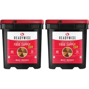 Wise Emergency Food Dried Meat and Rice 120 Servings Emergency Survival Food