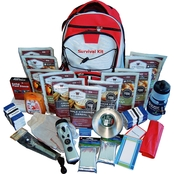 Wise Emergency Food 2 Wk Essential Survival Backpack for One with Emergency Food