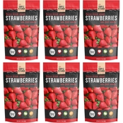 Wise Emergency Food Simple Kitchen Freeze Dried Strawberries 6 Ct.