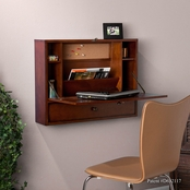 Southern Enterprises Wall Mount Laptop Desk