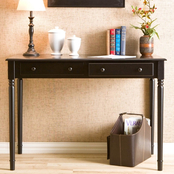 Southern Enterprises Writing 2 Drawer Desk