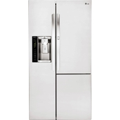 LG 26 Cu. Ft. Side by Side Refrigerator with Door in Door
