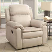 Lifestyle Solutions Webster Reclining Microfiber Chair