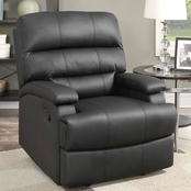 Lifestyle Solutions Rory Reclining Faux Leather Chair