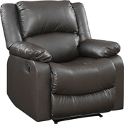 Lifestyle Solutions Parker Reclining Faux Leather Chair