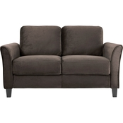Lifestyle Solutions Westin Curved Arm Loveseat