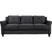 Lifestyle Solutions Hartford Curved Arm Sofa