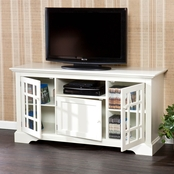 Southern Enterprises Cullerton TV/Media Stand, Off White