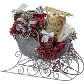 Naper Nuts and Sweets Silver Jewel Starburst Sleigh