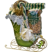 Naper Nuts and Sweets Nostalgic Frosted Sleigh