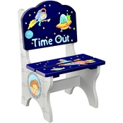 Fantasy Fields Outer Space Hand Painted Kids Time Out Chair