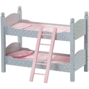 Olivia's Little World 18 In. Doll Furniture Double Bunk Bed