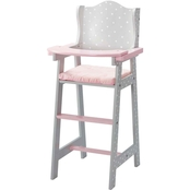 Olivia's Little World Baby Doll Furniture Baby High Chair