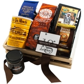 The Gourmet Market International Dark Roast Coffee Gift Crate