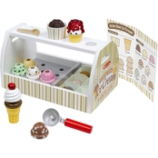Melissa & Doug Scoop and Serve Ice Cream Counter Set