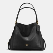 Coach Women's Edie Shoulder Bag 31 Black
