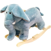 Happy Trails Elephant Rocking Animal