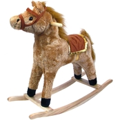 Happy Trails Rocking Horse Wooden Rocker