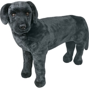 Melissa & Doug Black Lab Plush
