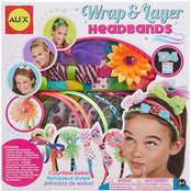 Alex Toys Craft Wrap and Layer Headbands