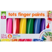 Alex Toys Jr. 6 Tots Finger Paints