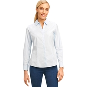 Foxcroft Petite Ellen Non Iron Stretch Cotton Shirt