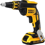 DeWalt 20V MAX* XR Li-Ion Brushless Drywall Screwgun Kit (2.0Ah)