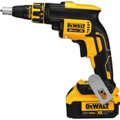 DeWalt 20V MAX XR Brushless Li-Ion Drywall Screwgun (4 Amps)