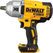DeWalt 20V MAX* XR Brushless 1/2 in. Impact Wrench with Hog Ring Anvil (Bare)