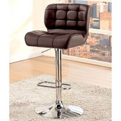 Furniture of America Swivel Bar Stool