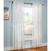 Commonwealth Home Fashions Annamaria Rod Pocket Drapery Panel