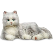 Hasbro Joy for All Silver Cat with White Mitts