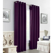 Commonwealth Home Fashions Darcy Grommet Top Drapery Panel