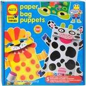 Alex Toys Little Hands Paper Bag Puppets Kit
