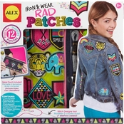 ALEX Toys Craft Iron and Wear Rad Patches Kit