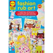 ALEX Toys Little Hands Fashion Rub Art