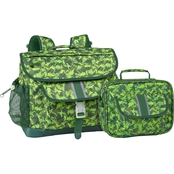 Bixbee Dino Camo Backpack and Lunch Kit Set
