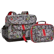 Bixbee Zombie Camo Backpack and Lunch Kit Set