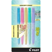 Pilot Pen Highlighter Frixion, 5 pk.
