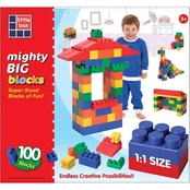 Grand Forward Mighty Big Blocks 100 Pc. Set Assorted Sizes