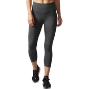 adidas Performer High Rise Three Quarter Tights