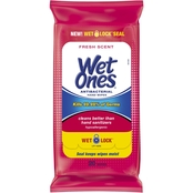 Wet Ones Antibacterial Hand Wipes Fresh Scent 20 Pk.