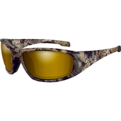 Wiley X Boss Polarized Sunglasses with Kryptek Highlander Frames