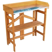 Merry Products Folding Utility Table and Potting Bench