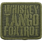Brigade Qm Morale Patch: Whiskey Tango Foxtrot