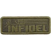 Brigade Qm Morale Patch: Infidel Strong Rocker Tab